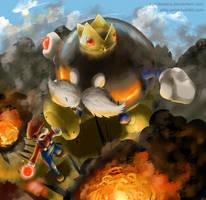 Mario's Blacklist - Big Bob-Omb by Edo--sama