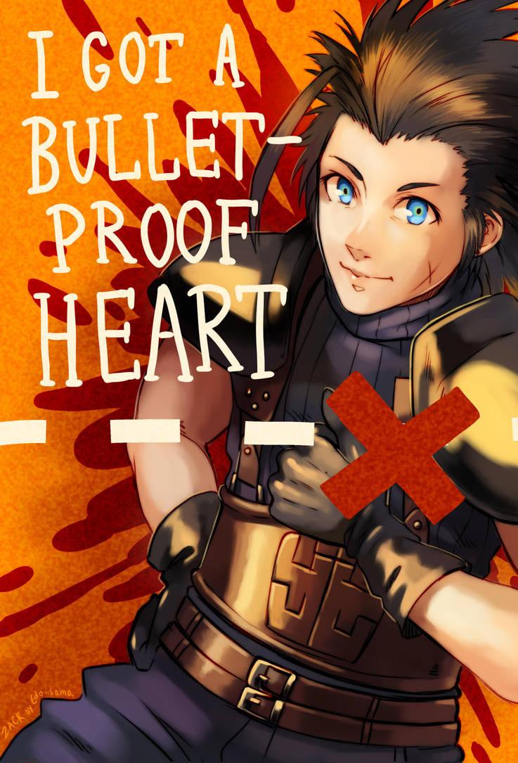 Bulletproof heart [FF7] by Edo--sama