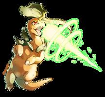 Bayleef used Solar Beam! by Edo--sama