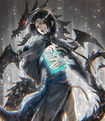 Soren the Black Dragon by Edo--sama