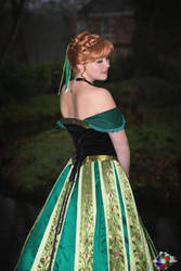 Coronation Anna - Frozen by AdiaCosplay