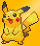 Pikachu by LunaDeInvierno-WM