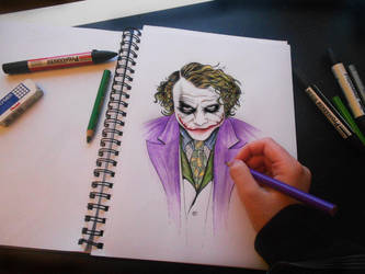 The Joker WIP by smoofay