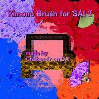 Kimono brush for SAI 2 by chatenoir