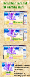 Photoshop Lace Tut by chatenoir