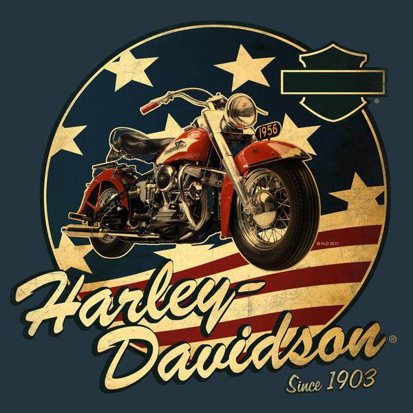 Harley-Davidson Summer Shirt 1 by Click-Art