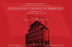 Dohle Invitation Front 04 by Click-Art