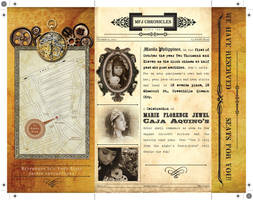 Steampunk Debut Inv Inside by Click-Art