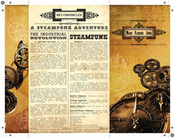 Steampunk Debut Inv Cover by Click-Art
