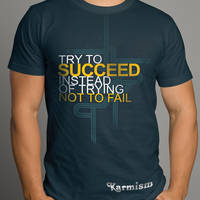 Try To Succeed Design 02 by Click-Art