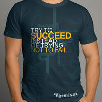 Try To Succeed Design 02A by Click-Art