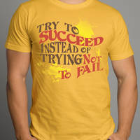 Try To Succeed Design 03 by Click-Art