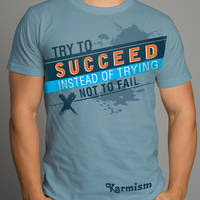 Try To Succeed Design 04 by Click-Art