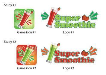 Super Smoothie App Logo Design by Click-Art