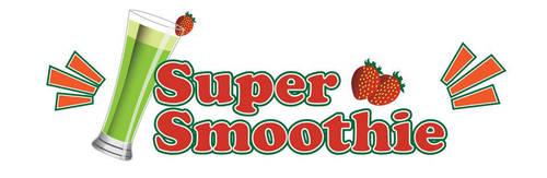 Super Smootie App Logo Design by Click-Art