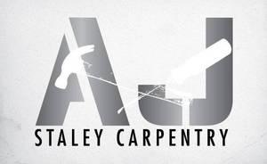 AJ Staley Carpentry Logo Design by Click-Art