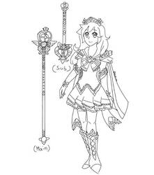 Tried to do an original magical girl by supersailorwind