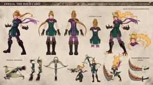 Ofelia Reference Sheet - Dragon Dreamers by CharlottaBavholm