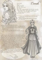 Emrah Character Sheet by Gnewi