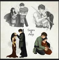 Sugeru and Aelys by Gnewi