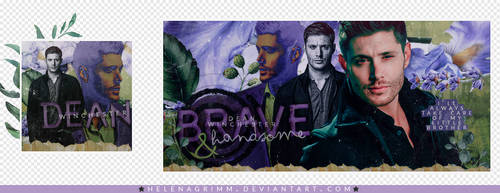 Dia 3: Dean Winchester by HelenaGrimm