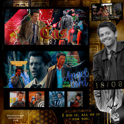 Castiel by HelenaGrimm