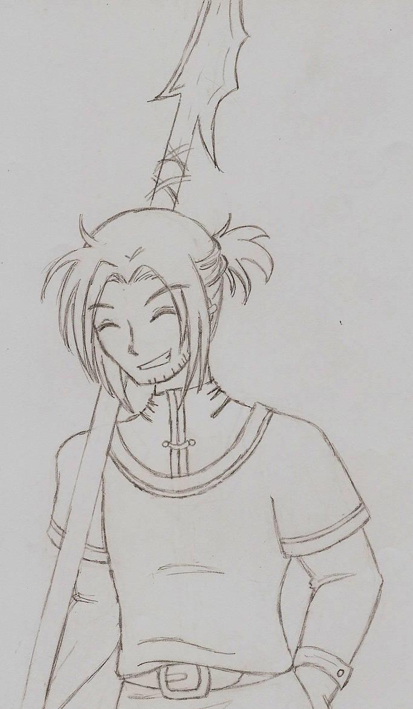 Dai: Original Sketch by DotaStrife