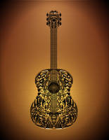 Guitar -Tan by evolinium