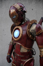 Steam Punk Iron Man by TheDreamerWorld