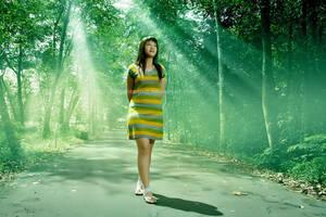 Green Ray by Bogantropuz