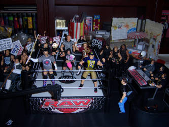 WWE RAW Arena by WeirdFantasticToys