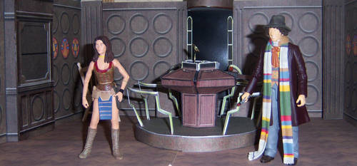 Secondary Control Room by WeirdFantasticToys