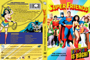 Super Friends DVD Cover by WeirdFantasticToys