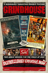 GRINDHOUSE Machete + Hell Ride Poster by WeirdFantasticToys