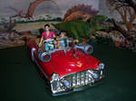 Cadillacs and Dinosaurs - Drivin' that Caddy by MisterBill82