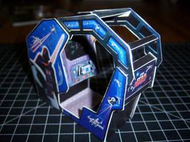 Star Wars Cockpit Arcade Cabinet by WeirdFantasticToys