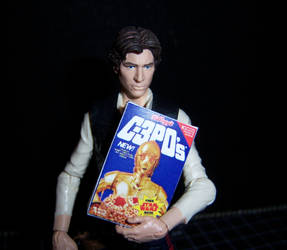 Time for Breakfast, Han by WeirdFantasticToys