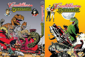 Cadillacs and Dinosaurs DVD Cover II by MisterBill82