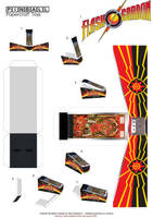 Flash Gordon Pinball Template 1 by MisterBill82
