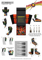 Flash Gordon Pinball Template 2 by MisterBill82