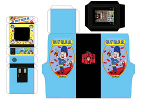 Fix It Felix Jr  Arcade Papercraft by MisterBill82