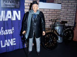 The First Doctor strolling down Totter's Lane by MisterBill82