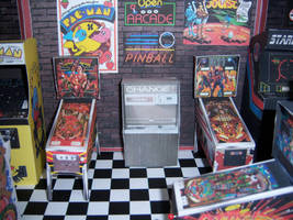 Pinball Machines by MisterBill82