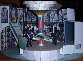 Series 9 TARDIS Control Room by WeirdFantasticToys