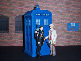 Ace and the Seventh Doctor by WeirdFantasticToys