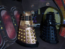 Inside the Dalek Saucer by WeirdFantasticToys