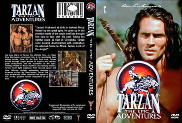 Tarzan The Epic Adventures DVD Cover by WeirdFantasticToys