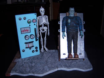 Frankenstein in the Pain Parlor by WeirdFantasticToys