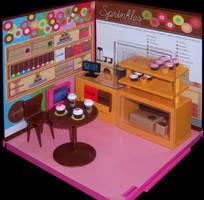 Sprinkles Cupcakes by WeirdFantasticToys
