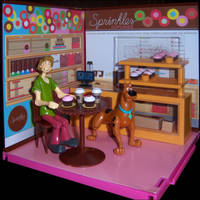 Shaggy  Scooby at Sprinkles by WeirdFantasticToys